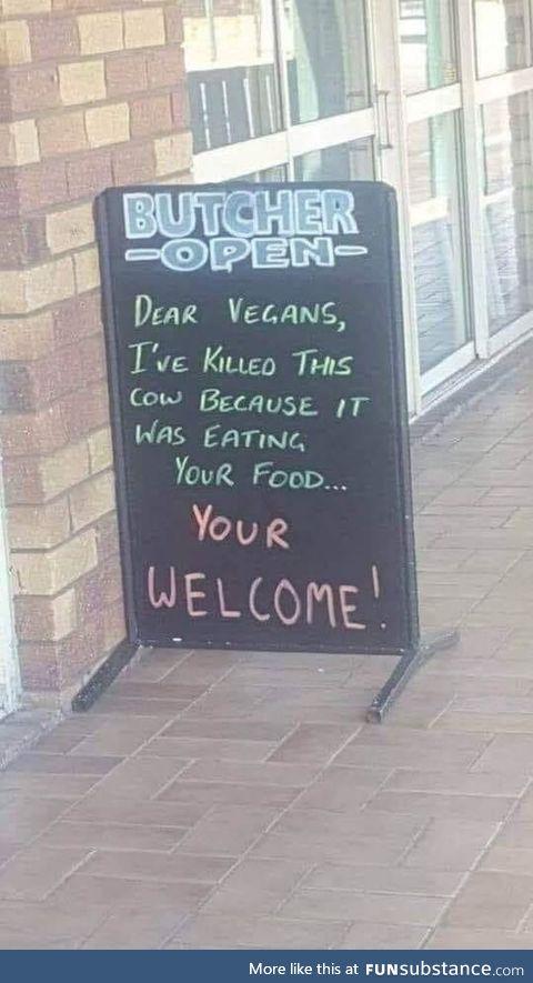 Helping vegans