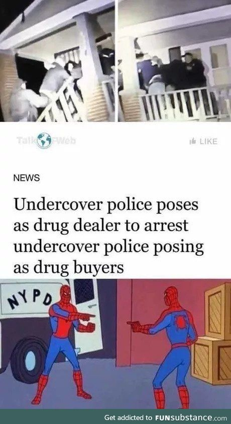 If everybody's undercover then nobody is undercover