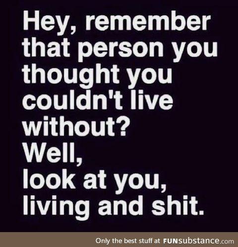 Yeah, you!