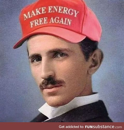 Tesla didn't die for this