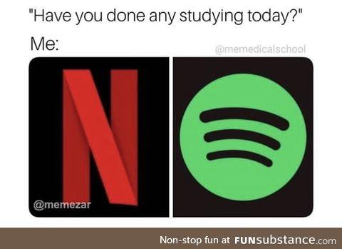 It's finals week