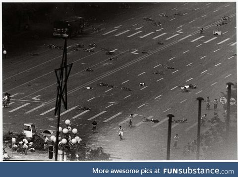 Aftermath of The Tiananmen Square Massacre- they will not censor us