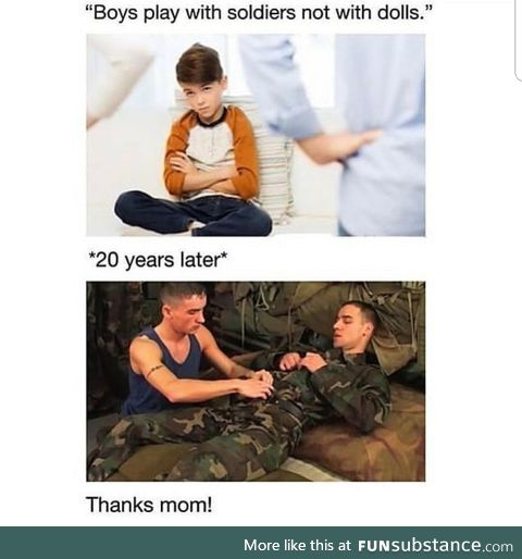Mom made me gay