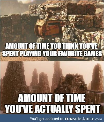 """PSA: Ignore your """"time spent"""" stats"""
