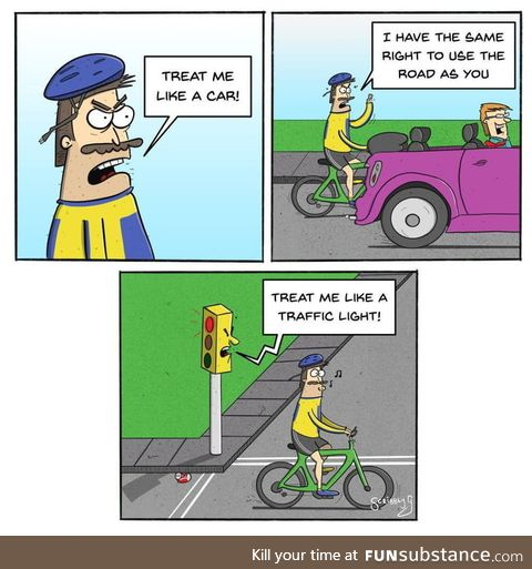 Dang cyclists