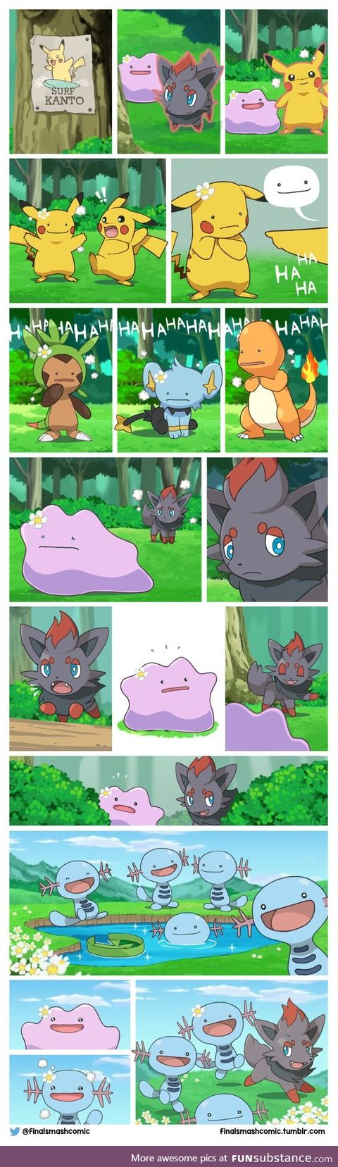 Ditto is best pokemon don't @ me