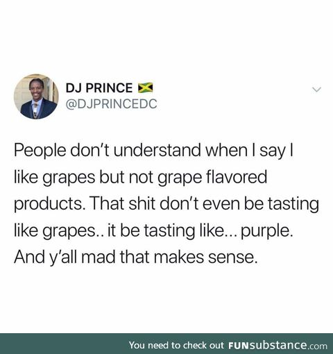 Grape truth