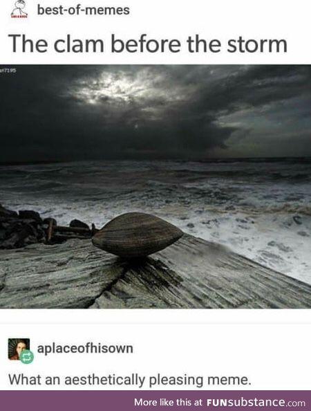 Le clam