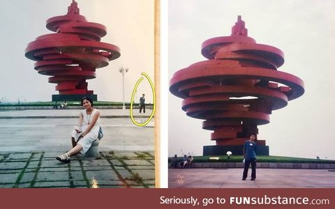 Married couple in china realize they were in. Each other's picture as teens