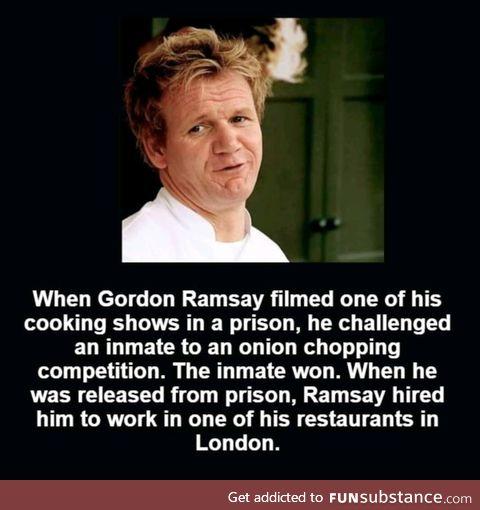 Good guy Ramsay