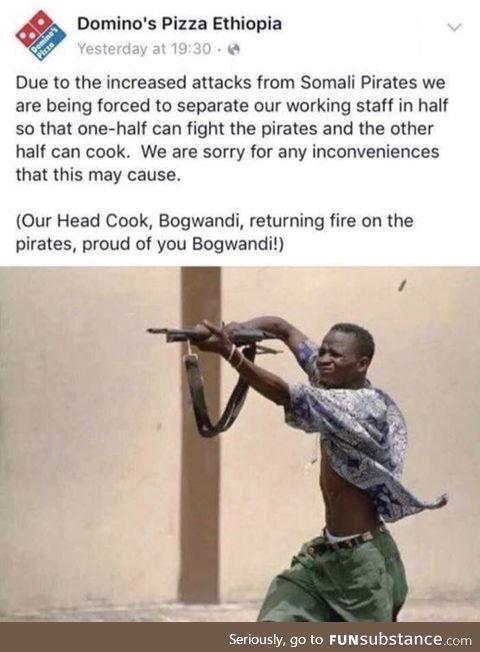 Proud of you Bogwa!