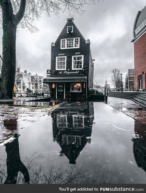 When it rains in Amsterdam