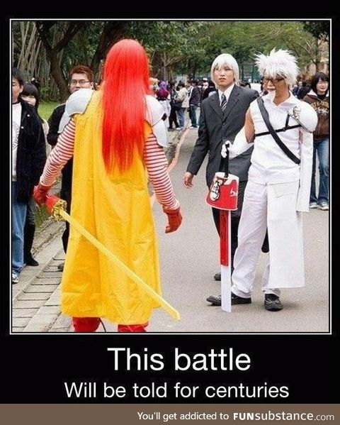 Thry will make songs of this battle