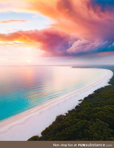 The Australian sky