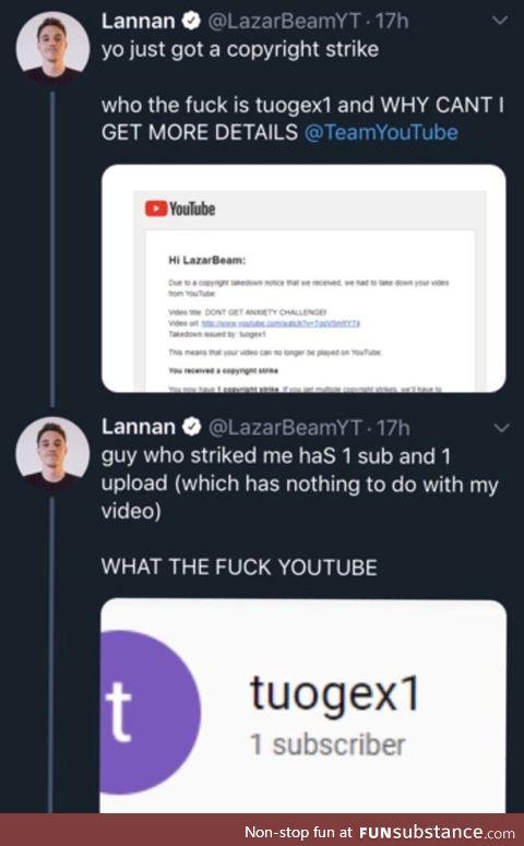 Youtube's copyright problem