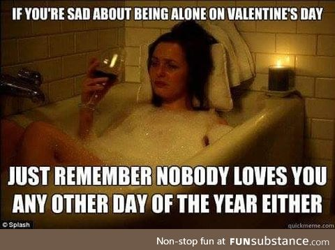 Sad about being lonely this Valentines?