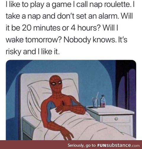 Napping is a game