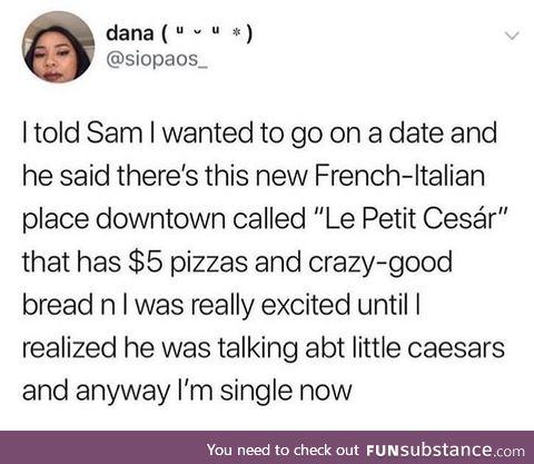 """""""Le Petit Cesár"""""""