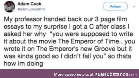 Must've been a good paper