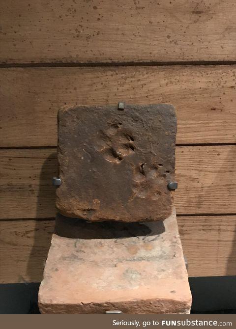 Roman brick dated 70 AD