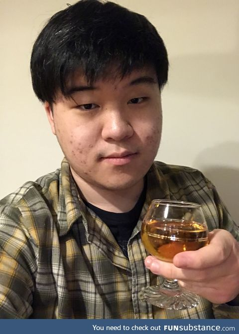 Turned 19 Today and Trying Wine for the First Time