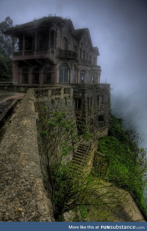 The haunted hotel of colombia