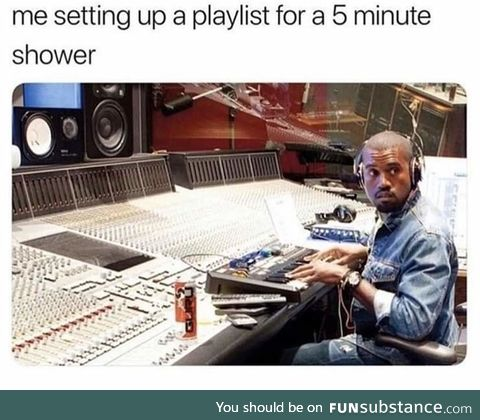 Except, I am my own playlist