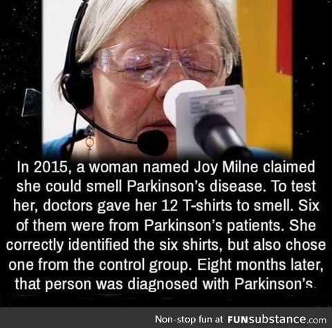 Smells like Parkinson's