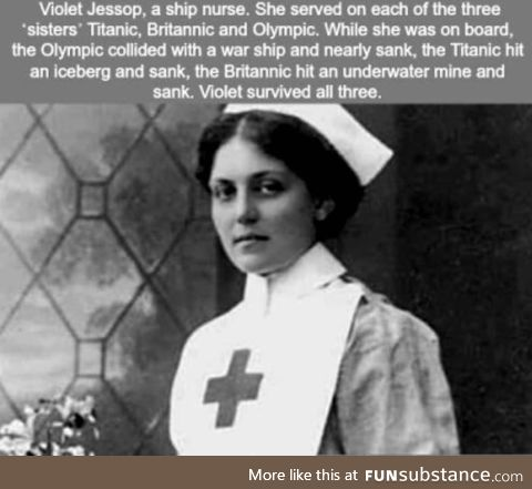 The nurse that survived The Titanic, The Britannic and The Olympic
