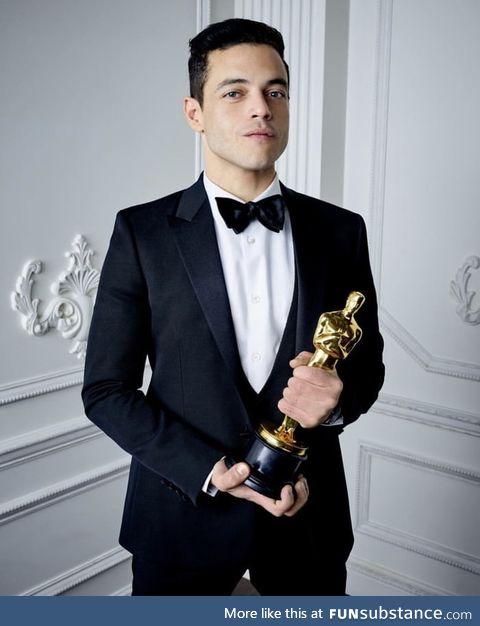 He truly deserves it. Congratulations Rami Malek!
