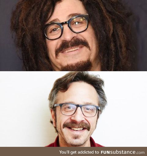 The lead singer of Counting Crows is just Marc Maron in disguise