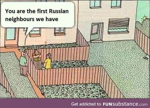 Russian neighbors