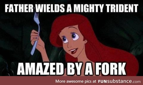 The mighty fork!