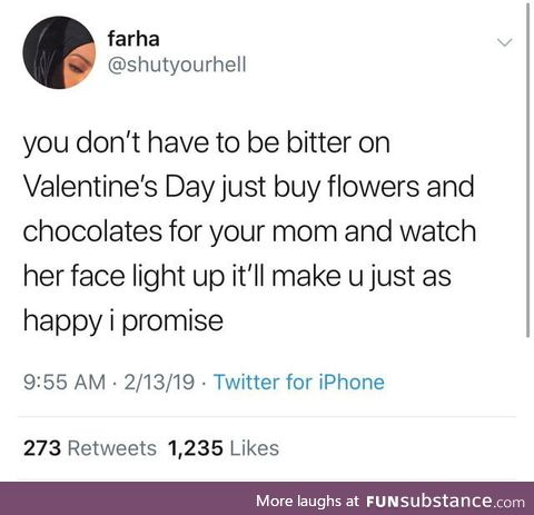 Show some love for your momma