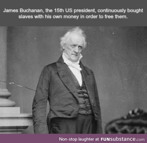 James Buchanan was before his time