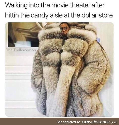 Puff daddy popcorn