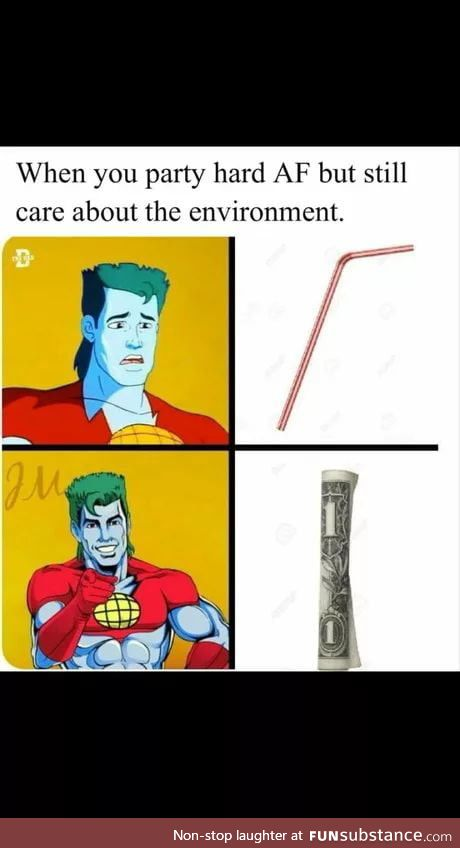 With the no straw policy going around