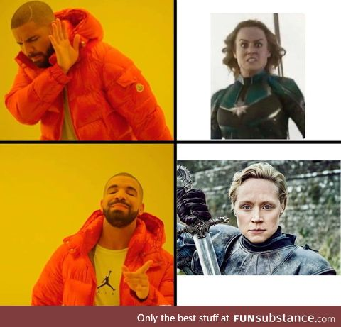How Badass female characters should be