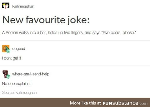 Roman joke