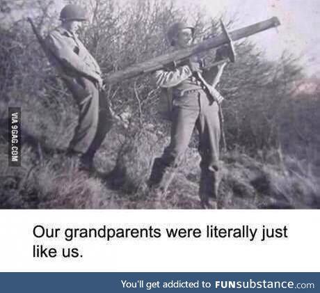 Our great ancestors