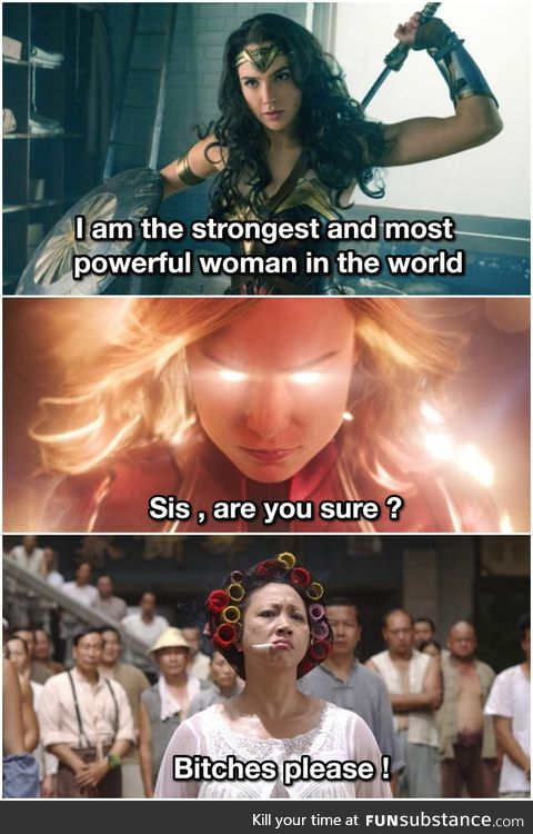 That badass aunty from Kungfu hustle