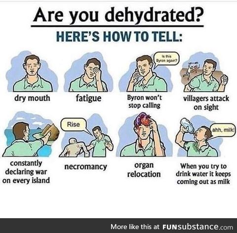 """Stay """"hydrated"""" everyone"""