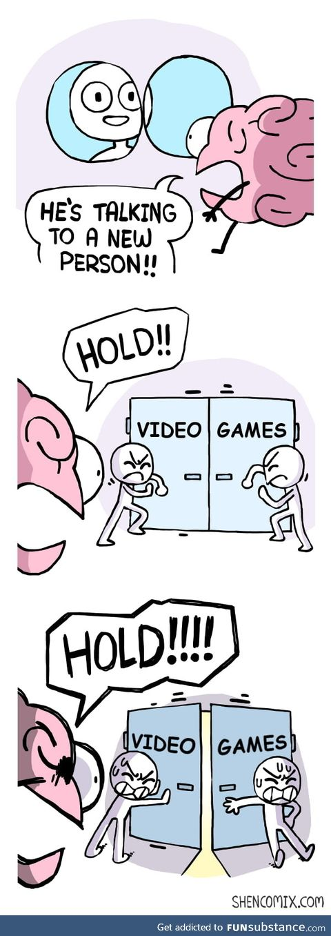 As a lifelong gamer starting a new job, the struggle is real