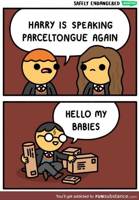 Parceltongue