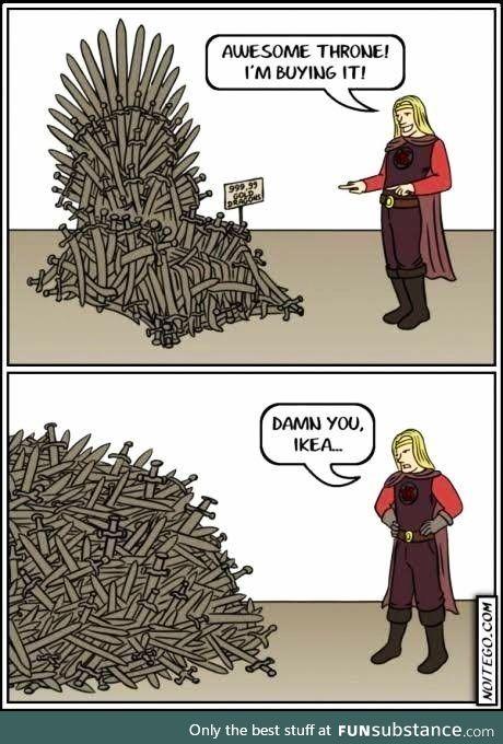 Damn you Ikea!