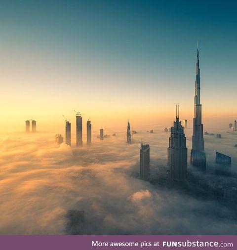 Morning time in Dubai