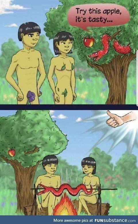 If adam and eve was asian.