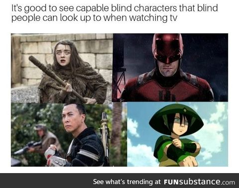 Shout out to all the blind people on