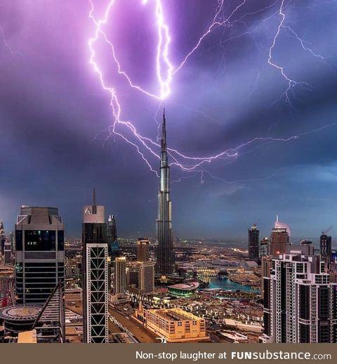 Thor has come to Dubai!