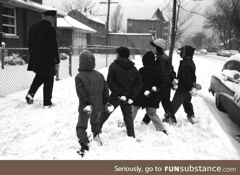 The ambush of a Chicago police officer circa 1959